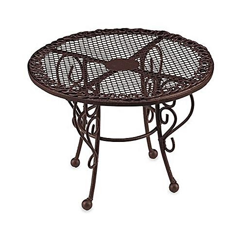 [Reuters Porcelain] [miniature] of wire garden table Br…