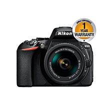 D5600 DSLR Camera with 18-55mm Lens  - 24.2MP - Black