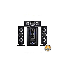 SP-353B - 3.1 Channel Bluetooth FM Multimedia Speaker Subwoofer - Black