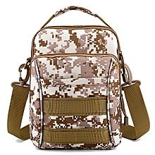 Men Outdoor Sports Travel Camouflage Color Tactical Shoulder Crossbody Bag