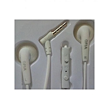 CS02 Earphones (Superbass) - White