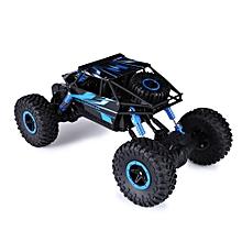 HB 1:18 Scale RC Rock Crawler 4WD Off-road Race Truck Toy Blue-EU Plug