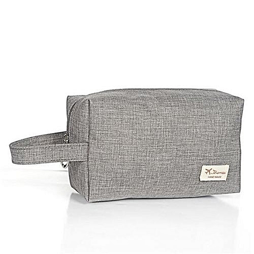 1eaafca2dac4 UNIVERSAL Travel Cosmetic Bag Protable Makeup Bag(Grey)   Best Price ...