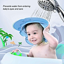 Cute Cartoon Baby Shampooing Cap Kids Elastic Adjustable Shower Protection Hat