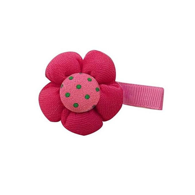 Eissely Cute Candy Color Flower Hair Clips Baby Girl Hairpin Child