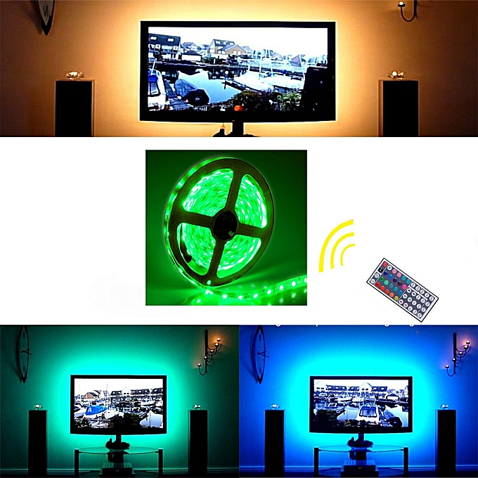 Buy Generic Led Strip Lights Kit 2m 5v 5050 Rgb Usb Tv Background