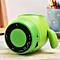 Kawaii Cartoon Wireless Bluetooth Speaker Stereo Bass Subwoofer Speaker Player green