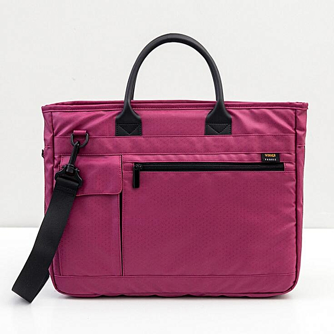 dc9eedd557a3 Large Capacity Laptop Handbag for Men Women Travel Briefcase Bussiness  Notebook Bag for 14 15 Inch