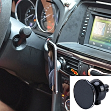 360 Degree Rotatable Universal Non Magnetic Nanometer Micro-suction Car Air Vent Phone Holder Stand, For 3.5 - 5.5 inch iPhone, Galaxy, Huawei, Xiaomi, Sony, LG, HTC, Google and other Smartphones(Black)