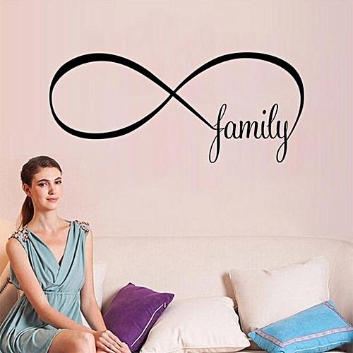 Buy Skywolfeye 44100cm Bedroom Wall Stickers Decor Infinity Symbol