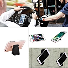 FLOURISH LAMA, Sticky Gel Pad, Nano Rubber Pad, Cell Phone Holder/stand , Car Bracket Pods 2 Pcs Set