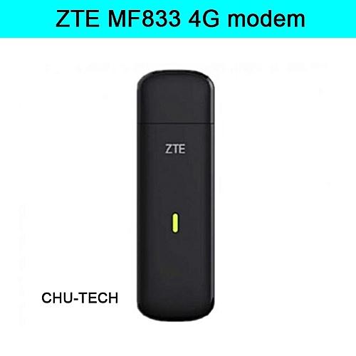 150Mbps ZTE MF833 4G LTE USB Modem cat4 Qualcomm chip MDM9225 support  band1/2/4/5/7/28