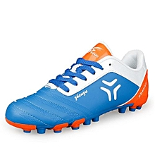 Hot Sale Youth And Students Lawn Football Soccer Team Training Sports Shoes-Blue