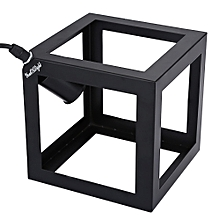 Square Shaped AC 85 - 265V E27 Pendant Lampshade for Home Decoration - Black