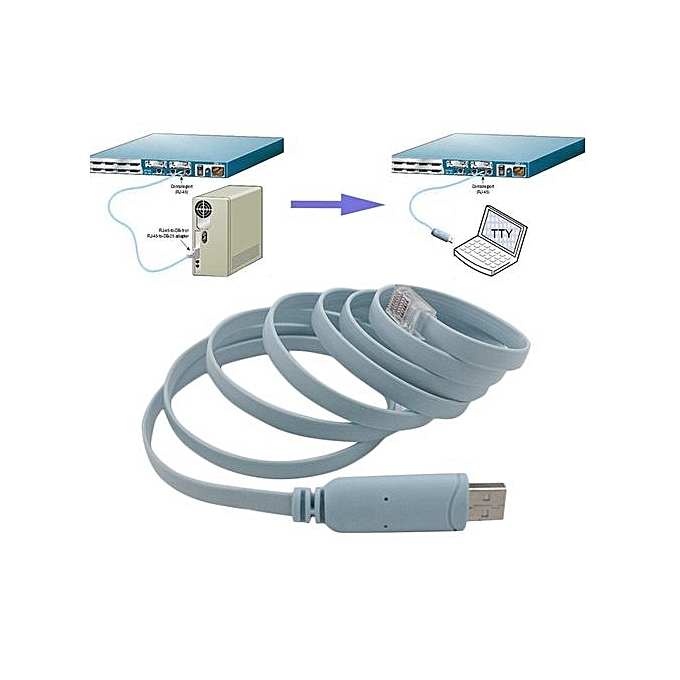 Buy Generic USB TO RJ45 Serial Console Cable Express Net Routers ...
