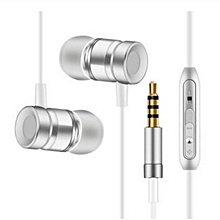 Metal Earphone Bass Phone Computer General Earphone