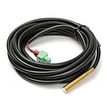 """5x118"""" RTS300R47K3.81A Black Remote Temperature Sensor For Epsolar Controller"""