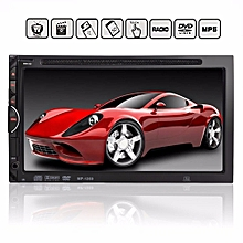 "2016 New Double 2 Din 7"" Car Bluetooth Touch Screen DVD CD MP4 Player FM Radio AUX/SD/USB"