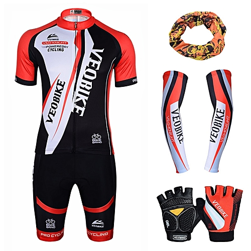 FASHION Professional cycling suits unisex bicycle bike mountain clothing cuff gloves shorts combination