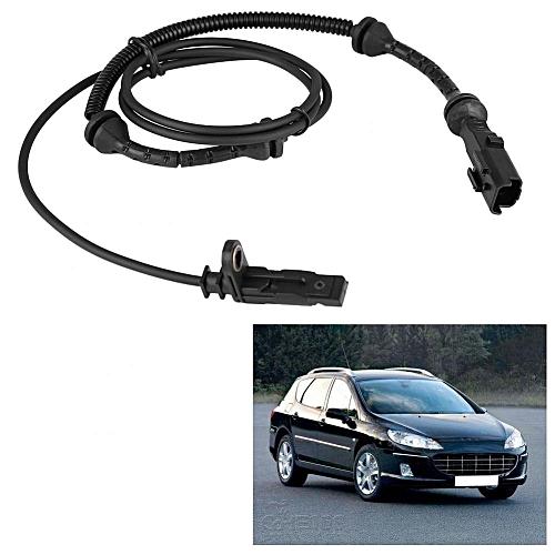 Car Front Left/Right ABS Wheel Speed Sensor for Peugeot 407 407SW Citroen C6 4545G6 4545A9