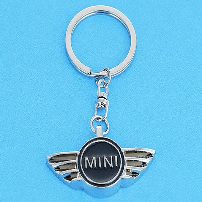 22f4438a7a ... Car Pendant Alloy Car Keyring Keychain Key Chain Auto Key Ring Holder  For Mini Cooper Countryman ...