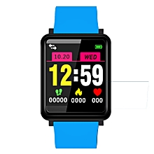 QF1 1.44 inch TFT Color Screen Smart Bracelet IP67 Waterproof, Support Heart Rate Monitoring /Blood Pressure Monitoring /Blood oxygen monitoring /Sleep Monitoring /Sedentary Reminder /Information Push (Baby Blue)