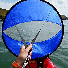 42 Inch Downwind Wind Paddle Popup Board Kayak Sail Wind Sail Accessories PVC Blue