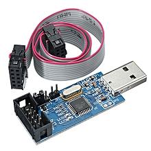 3.3V / 5V USBASP USBISP AVR Programmer Downloader ATMEGA8 ATMEGA128 With Download Cable