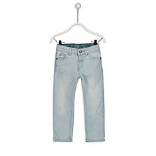 Blue Denim Slim Fit Trousers