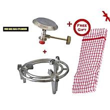 Gas Burner + Meko Gas Grill 6kg Meko (+ Free Gift Hand Towel).