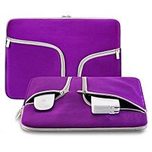 "11"" Laptop Bag, Fashion Waterproof Sleeve PorTablet Hand Bag For 11.6 Macbook Air All Notebook, Purple"