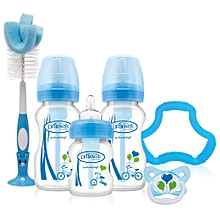 Options Wide Neck Special Edition Gift Set -  Blue
