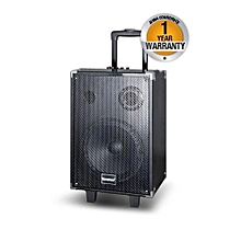 MP-10A Out-Door Multimedia Speaker With Li-Battery, Wireless Mic, Bluetooth and Radio