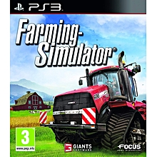 PS3 Game Farming Simulator