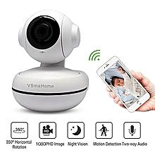 1080P Wireless IP Camera Home Security Surveillance Camera Wifi Cloud Camera (Included 64G TF Card)