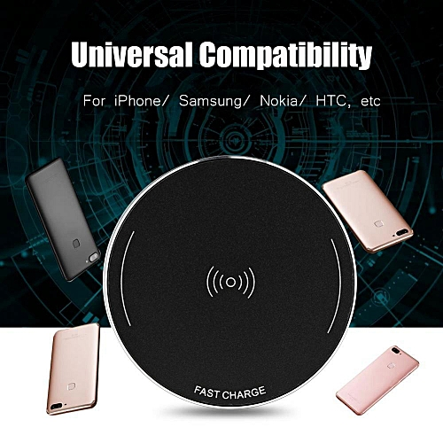 Qi Wireless Charger 10W Wireless Charging Pad for Smart Phone