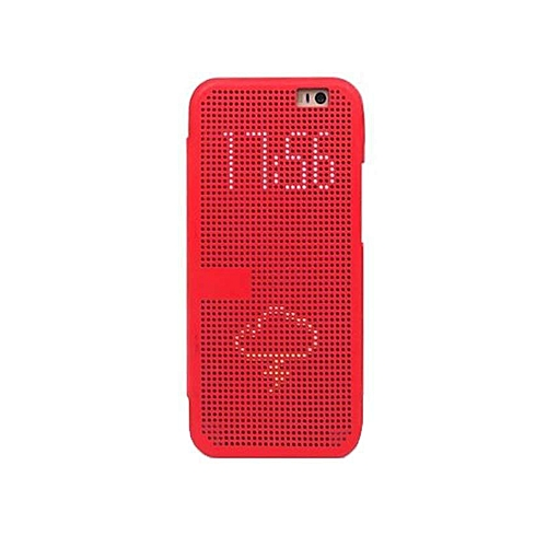 Butterfly 2 - Dot View Touch Sense Case - Red