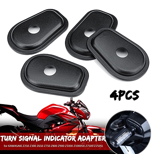 Motorcycle Refit Turn Signals Indicator Adapter Spacers For Kawasaki Z250 Z300 Z650 Z750 Z800 Z900 Z1000 Z1000sx Z750s Z250sl