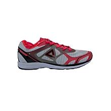 Running Shoes Men- E52247hwhite/Flo Red- 41