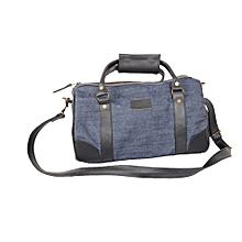 Jeans and leather handbag- loitoktok