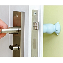 2pcs X Door Knob Cover Kid Baby Safety Gate Soft Knob Cover Cartoon Shape