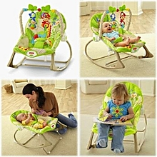 Fisher Price Infant to Toddler Rocker/Bouncers with vibrations ( 0+ months) - Green