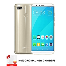 Gionee F6 5.7'' 13MP + 8MP (3GB + 32GB ROM) 4G  – Gold