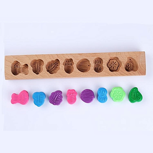 5bcb91337 Generic Traditional Vintage Wooden Mini Moon Cake Muffin Pastry Mould  Printing Mould Baking Chocolate Candy #1
