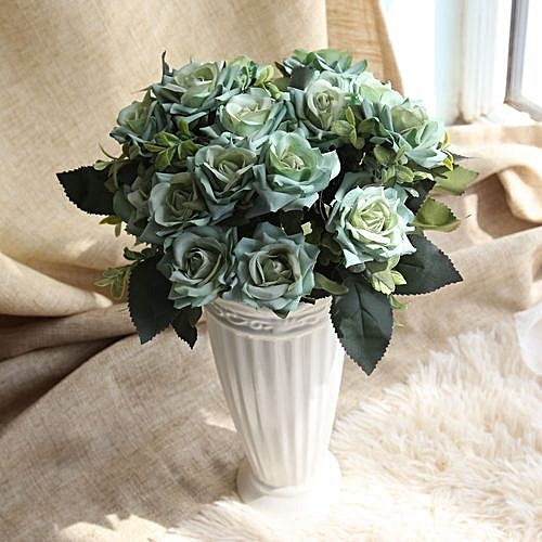Buy Generic Technologg Home Decor Artificial Silk Fake Flowers Rose