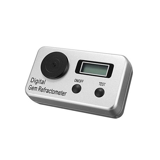 Digital Gem Refractometer 1 4-2 0 RI Gemstone Gemology Gemological Diamond  Tool