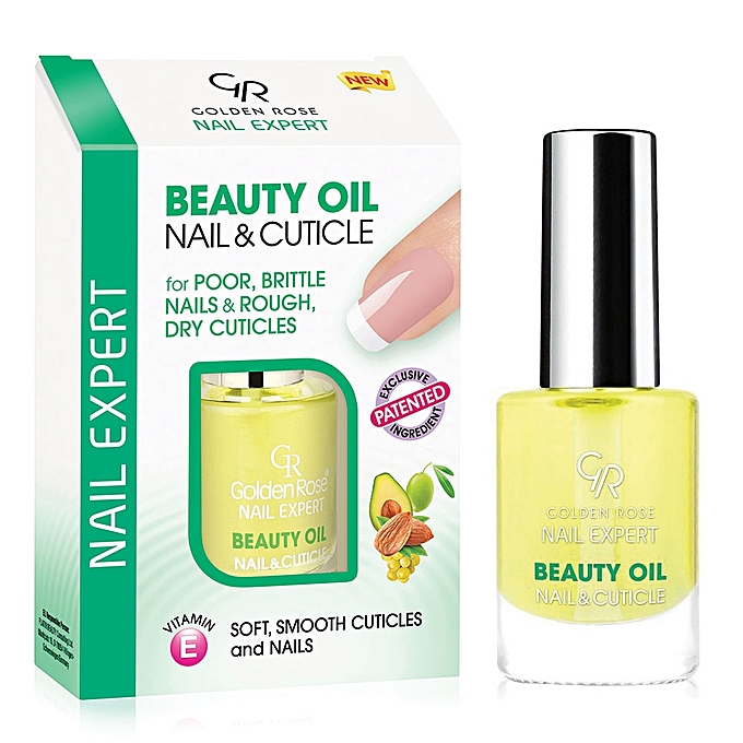 GOLDEN ROSE Nail Expert Beauty Oil Nail And Cuticle – 11ml ...