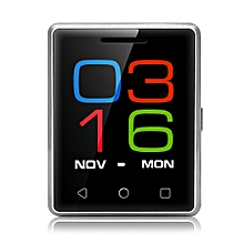 S8 1.54 inch Smartphone MTK6261D Heart Rate Measurement Pedometer Remote Camera-SILVER