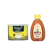 Green Tea - 40g + Natural Honey - 250g