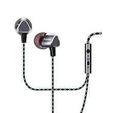X36M In Ear Noise Cancelling Bass Sport Earphone - Grey